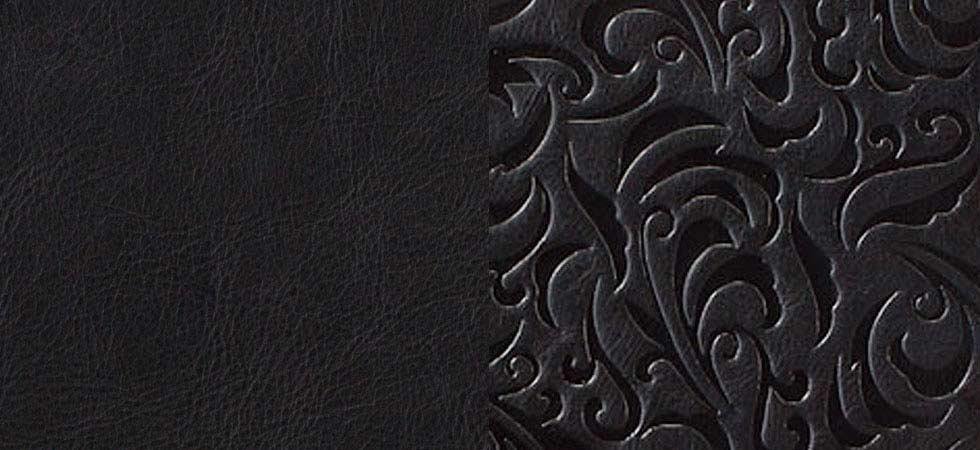 classic-black-embossed-leather