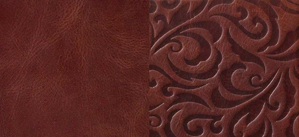 vintage-brown-embossed-leather